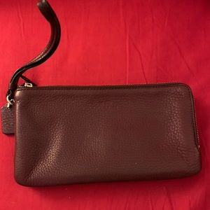 Coach wristlet wallet in perfect condition.